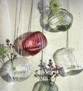 Glasvasen zum Hängen und Stellen