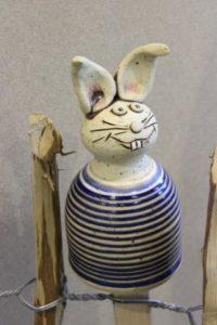Keramik-Zaunhocker